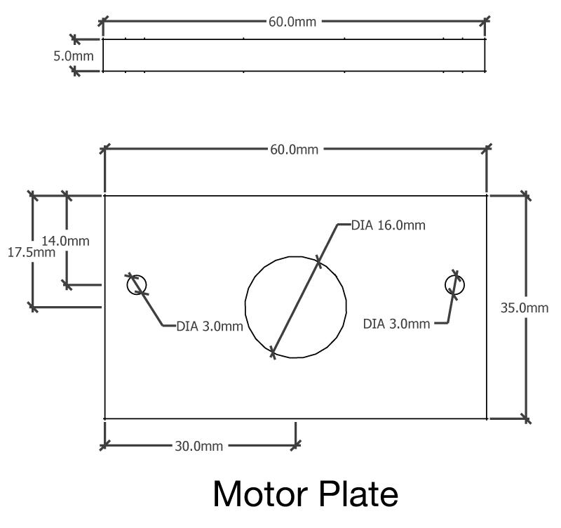 Motor-plate.