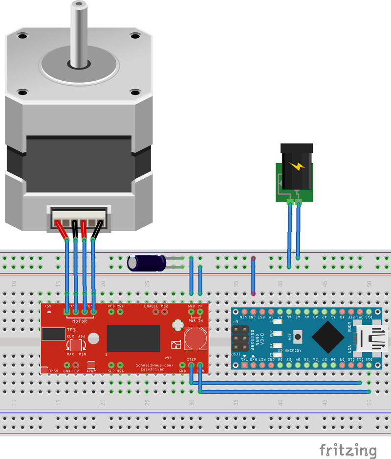 how to drive bs107a arduino
